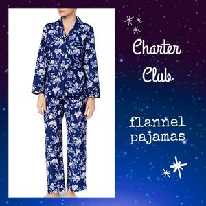 ‼NEW LIST‼🌜EUC Charter Club Flannel Pajamas 🌛